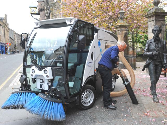 Road Amp Pavement Sweepers Zenith Engineering