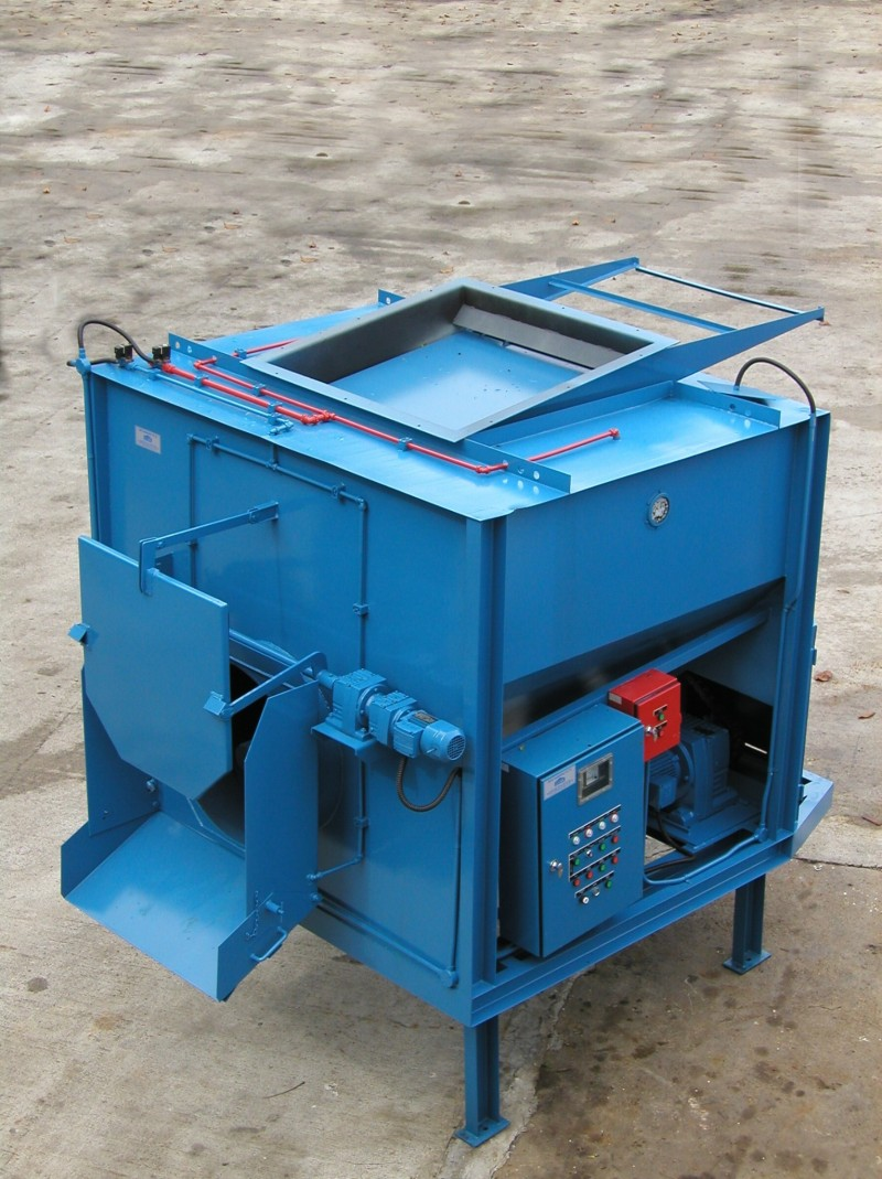 Dust Screw, Spiral Waste Bin, Zenith, Zenith Engineering, Waste Management Equipement