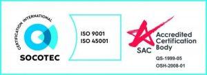 ISO 9001 + ISO 45001 HORIZONTAL SAC